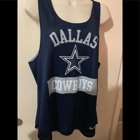 NFL Tops - Used Dallas Cowboys racer back sz M